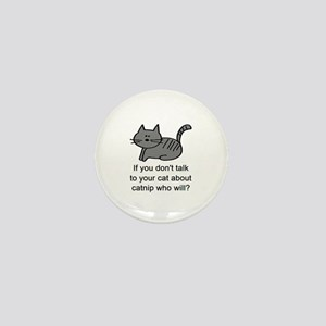 Talk to your cat Mini Button